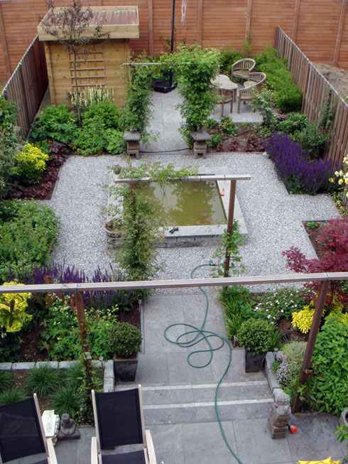 Gallery of kleine tuin ontwerp for Voorbeeldtuinen kleine tuin